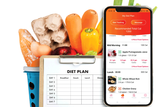 PERSONALIZED DIET PLANS BY REGISTERED DIETITIANS, TAILORED TO YOUR LIFESTYLE AND NUTRITION NEEDS