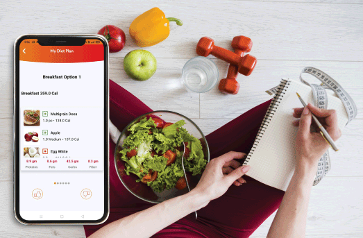 TRACK NUTRITION, COUNT CALORIE INTAKE AND EXPLORE HEALTHY FOOD OPTIONS