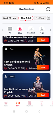 Track your workout progress with Onefitplus App