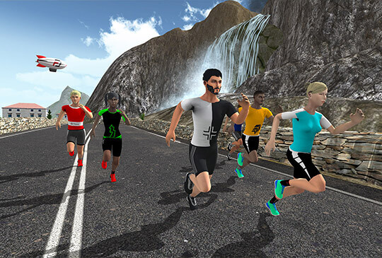 Fitwarz - The Fitness Game