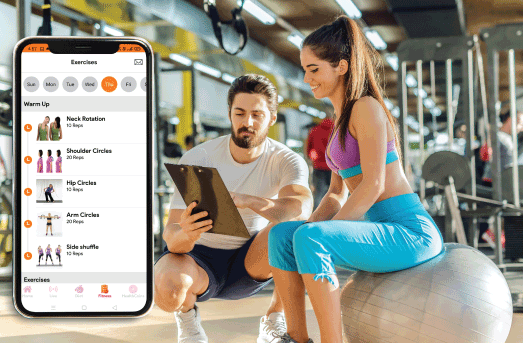 CUSTOMIZED WORKOUT PLANS TO GUIDE YOU ANYTIME, ANYWHERE